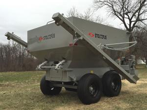 dry lime boom spreader