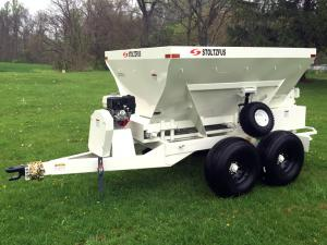 custom lime fertilizer spreader